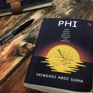Cover buku Phi, novel teranyar Pringadi