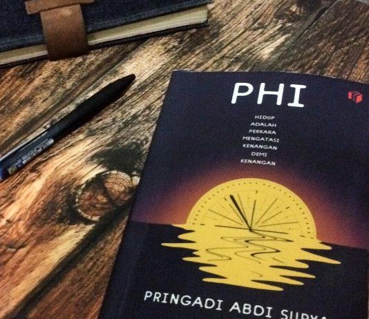 Cover buku Phi, novel teranyar Pringadi