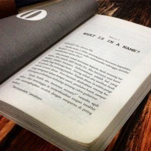 Halaman pertama dari Bab 3 buku Phi karya Pringadi