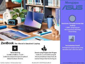 Gambar Asus Zenbook produk terbaru dengan kualitas terpercaya