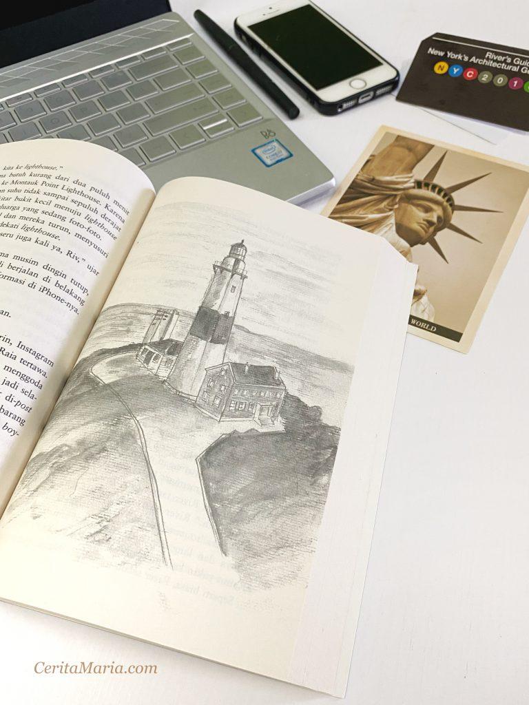Sketsa Lukisan karya River Jusuf, The Architecture of Love